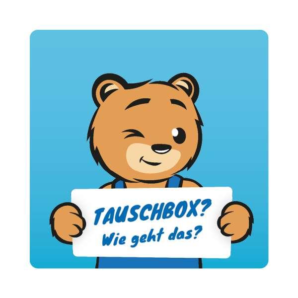 SodaBär© Tausch-Box 4 x 425g (60 l) (kompatibel mit fast allen Geräten z.B. Sodastream)
