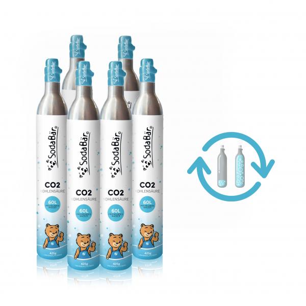 CO2 Zylinder 6er-Tauschbox